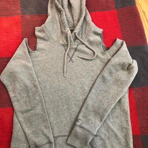 Hollister Cold Shoulder Hoodie